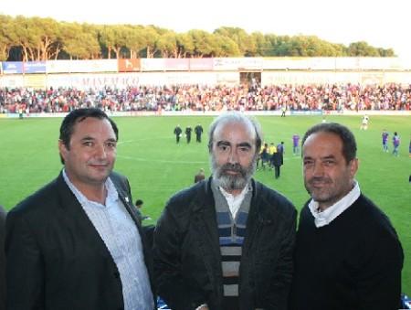 Armando Borraz, Fernando elboj y Agapito iglesias.