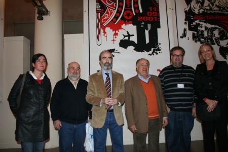 Amalia Aso, José M. Pesqué, Fernando Elboj, Joaquin Lizana, Ximo Lizana y Marta Gastón.