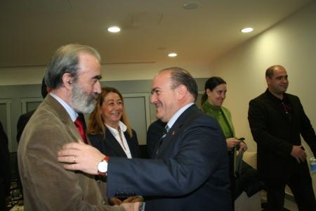 Fernando Elboj y Eduardo Bandrés.