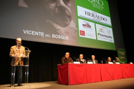 """Fernando Elboj, Javier Matallanas, José Luis, Vicente del Bosque, José Antonio Martin """"Petón"""" y Tomás Guasch."""