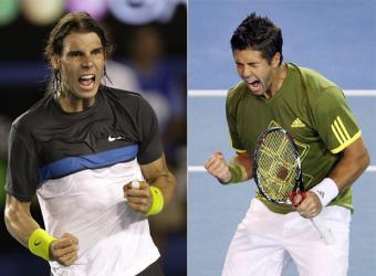 Rafa Nadal y Fernando Verdasco