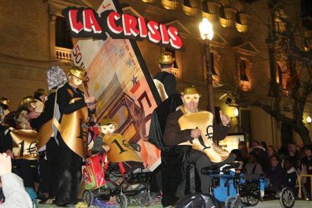 Huesca. Plaza de Navarra. Carnaval. 21-02-2009.
