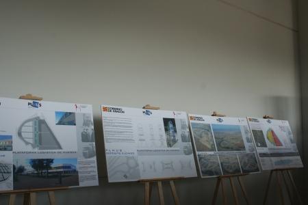 Planos del conjunto de la Plataforma Logistica e Industrial de la ciudad de Huesca.