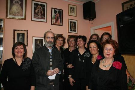 Huesca. Casa de Andalucía. Con la Coral Voces Amigas.