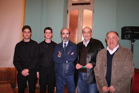 De izquierda a derecha, Jaime, Adrián, Fernando, Pedro y Joaquín.