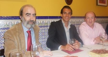 Fernendo Elboj, Leandro Marcos y Jorge Lozano