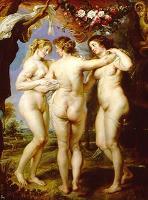 Las Tres Gracias, de Rubens