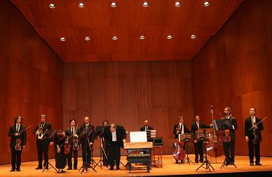Huesca. Auditorio del Palacio de Congresos. Concierto de música Barroca por Al Ayre Español.