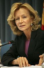Vicepresidenta Doña Elena Salgado