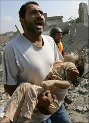 Gaza. Finales del 2008.