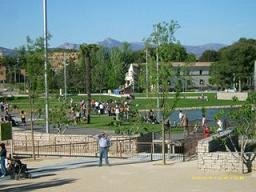 Huesca. Parque Universidad
