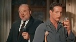 Burl Ives y Paul Newman