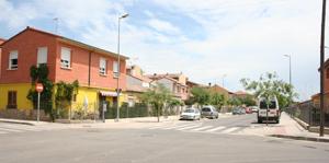 C/ San Vicente de Paul. Casas orígen del barrio. Reurbanización, 2007.