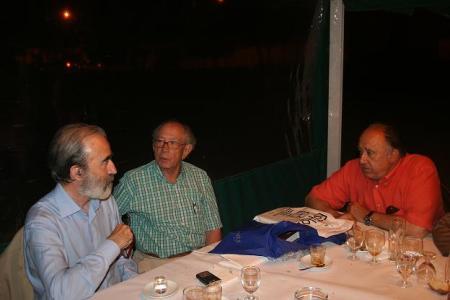 Fernando Elboj, José María Arrojo y Joaquín Lizana.