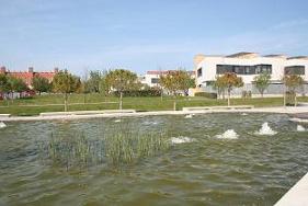 Zona verde, parque Padre Querbes.