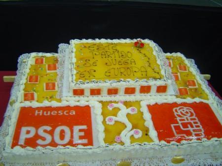 Tarta.23-Mayo-2009 Palacio de Congresos MITÍN PSOE 037