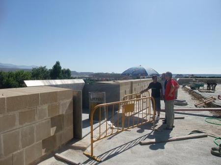 Muralla de Huesca. Andador.