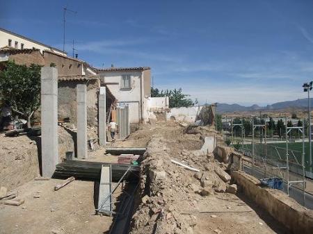 Huesca. Muralla. Desarrollo de Plan Especial de la Muralla.