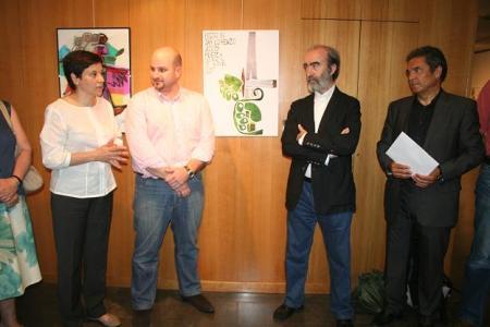 Teresa Sas, Alberto Naya, Fernando Elboj y Jesús Ruiz