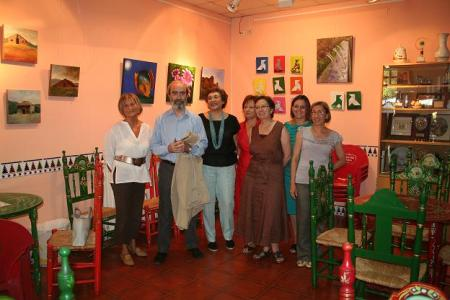 Huesca. Casa de Andalucía. Con el Grupo Estudio 21.