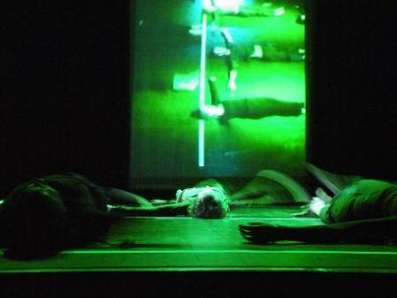 Taller de Danza. Obra: Introspección. Dirección: Nuria Bolea Til.