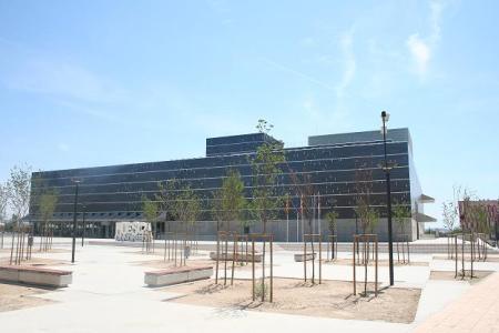 Huesca. Capital de la provincia de Huesca. Palacio de Congresos.