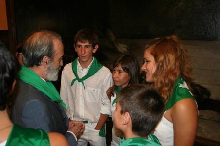 Chicos y chicas lanzadores del cohete San Lorenzo 2009