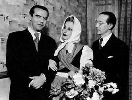 Lorca, Xirgú y Rivas.