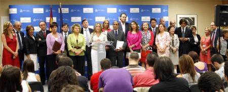 La Ministra Trinidad Jiménez y los Consejer@s de Sanidad de las Autonomías.